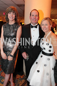 Maureen Malley, Brian Cunningham, Sara Cunningham. Washington Performing Arts Society Annual Gala and Auction at Marriott Wardman Park Hotel. Photo by Alfredo Flores. April 2, 2011