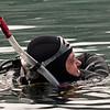 Diver on edge