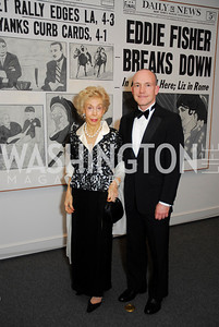 Ina Ginsburg,Stephen Benett Phillips,Reception for Warhol at The National Gallery, October 5,2011,Kyle Samperton