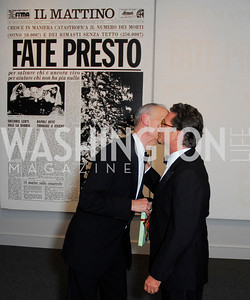 John Waters,Vincent Fremont,Reception for Warhol at The National Gallery, October 5,2011,Kyle Samperton