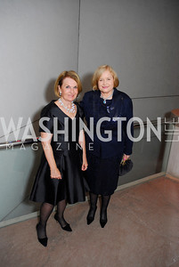 Vicki Sant,Sharon Rockefeller,Reception for Warhol at The National Gallery, October 5,2011,Kyle Samperton