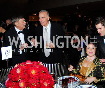 Robert Kogod,Mitch Railes,Izette Folger,Reception for Warhol at The National Gallery, October 5,2011,Kyle Samperton