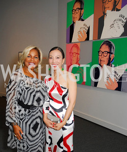 Carmine Arman,Christine Aylward,Reception for Warhol at The National Gallery, October 5,2011,Kyle Samperton