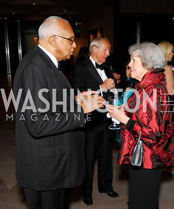 Lasalle Lefall,Liz Crog,Reception for Warhol at The National Gallery, October 5,2011,Kyle Samperton