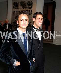 Mike Avedon,Nick Carfritz,Reception for Warhol at The National Gallery, October 5,2011,Kyle Samperton