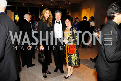 Lorie Peters,Neil Folger,Izette Folger,,Reception for Warhol at The National Gallery, October 5,2011,Kyle Samperton