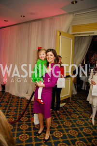 Riley Tracey,Norah O'Donnell,Washington Ballet's Nutcracker Tea ,December 11,2011,Kyle Samperton