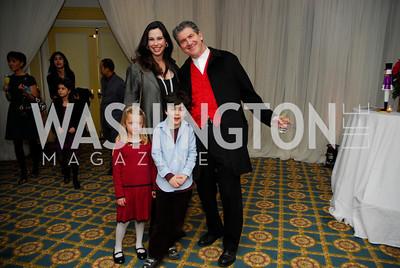 Aimee Lehrman,Robert Lehrman,Gabriela Forrester,Jake Lehrman,Washington Ballet's Nutcracker Tea ,December 11,2011,Kyle Samperton