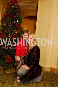 Sophie Dorros,Jamie Dorros,Washington Ballet's Nutcracker Tea ,December 11,2011,Kyle Samperton