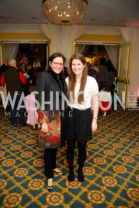Andrea Weisswasser,Emily Weisswasser,Washington Ballet's Nutcracker Tea ,December 11,2011,Kyle Samperton