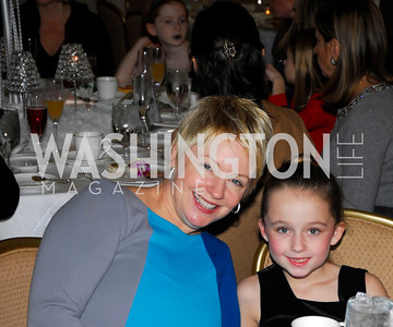 Evonne Connolly,Olivia Connolly,Washington Ballet's Nutcracker Tea ,December 11,2011,Kyle Samperton