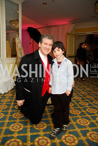Robert Lehrman,Jake Lehrman,Washington Ballet's Nutcracker Tea ,December 11,2011,Kyle Samperton