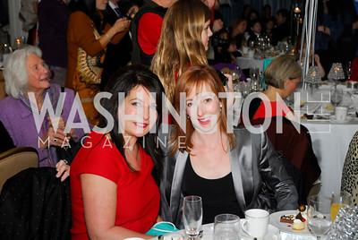 Anna Trone,Stacey Cohan,Washington Ballet's Nutcracker Tea ,December 11,2011,Kyle Samperton