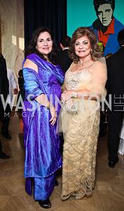 Sylvia de Leon, Annie Totah. Photo by Tony Powell. Rock 'n' Roll Gala. Russian Federation. May 12, 2011