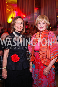 Susan Rappaport, Pam Peabody. Photo by Tony Powell. Rock 'n' Roll Gala. Russian Federation. May 12, 2011
