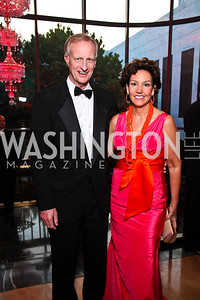 Jack Evans and Michele Seiver. Photo by Tony Powell. Rock 'n' Roll Gala. Russian Federation. May 12, 2011