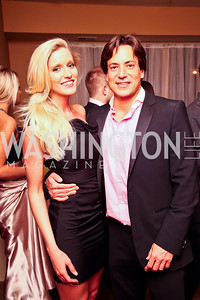 Allyn Rose, David Tafuri. Photo by Tony Powell. WL WHC After Party. Grey Goose Mansion. April 30, 2011
