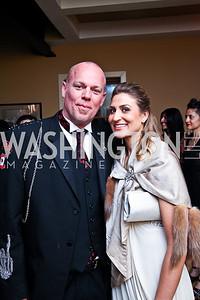 Freddie Wyatt, Lindsey Davidson. Photo by Tony Powell. WL WHC After Party. Grey Goose Mansion. April 30, 2011