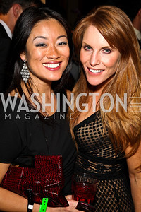 Pamela Sorensen, Sharon Dougherty. Photo by Tony Powell. WL WHC After Party. Grey Goose Mansion. April 30, 2011
