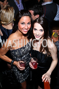 Sarah Martin, Rachel Ptak. Photo by Tony Powell. WL WHC After Party. Grey Goose Mansion. April 30, 2011