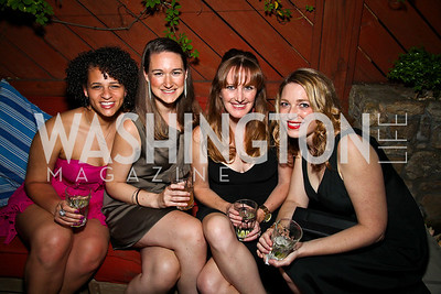 Marlana Anderson, Ashley Kaiser, Sheila Mulhern, Kristen Cibelli. Photo by Tony Powell. WL WHC After Party. Grey Goose Mansion. April 30, 2011