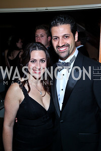 Sherri Kraham Talabani and Qubad Talabani. Photo by Tony Powell. WL WHC After Party. Grey Goose Mansion. April 30, 2011