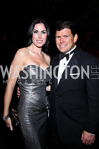 Amy and Bret Baier. Photo by Tony Powell. WL WHC After Party. Grey Goose Mansion. April 30, 2011