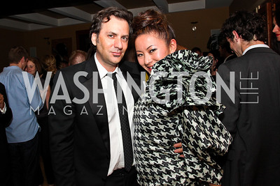 Michael Clements and Anchyi Wei. Photo by Tony Powell. WL WHC After Party. Grey Goose Mansion. April 30, 2011