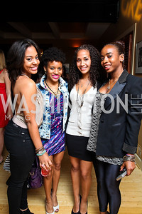 Taylor Williams, Jamie Lynn Harris, Alana Sanders, Noelle Lindsay. Photo by Tony Powell. WL WHC After Party. Grey Goose Mansion. April 30, 2011