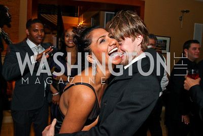 Tara Kumar, Ashtan Moore. Photo by Tony Powell. WL WHC After Party. Grey Goose Mansion. April 30, 2011