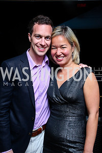 David Bonck, Philippa Hughes. Photo by Tony Powell. WL WHC After Party. Grey Goose Mansion. April 30, 2011