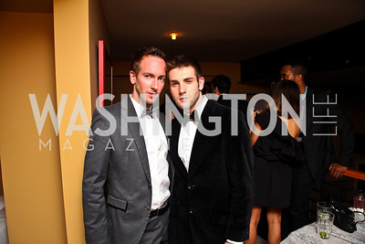Zachary Hackstock, Dan Roberge. Photo by Tony Powell. WL WHC After Party. Grey Goose Mansion. April 30, 2011