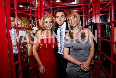 Rebecca Cooper, Tommy McFly, Britt Kahn. Photo by Tony Powell. WL WHC After Party. Grey Goose Mansion. April 30, 2011