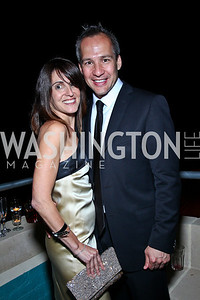 Jennifer Haber, Winston Bao Lord. Photo by Tony Powell. WL WHC After Party. Grey Goose Mansion. April 30, 2011