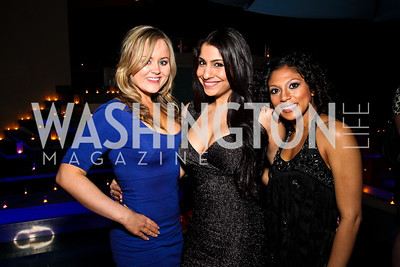 Katie Smith, Nha Chhabra, Marie Sheppard. Photo by Tony Powell. WL WHC After Party. Grey Goose Mansion. April 30, 2011