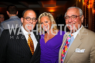 Michael Kenton, Deborah and Donald Sigmund. Photo by Tony Powell. WL WHC After Party. Grey Goose Mansion. April 30, 2011