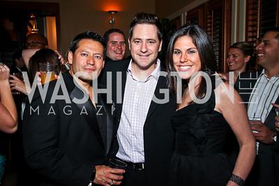 Ernie Arias, Matt Eisman, Renee Sharrow. Photo by Tony Powell. WL WHC After Party. Grey Goose Mansion. April 30, 2011