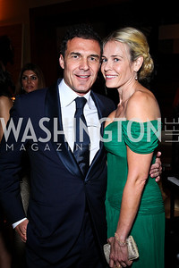 André Balazs, Chelsea Handler. Photo by Tony Powell. WL WHC After Party. Grey Goose Mansion. April 30, 2011