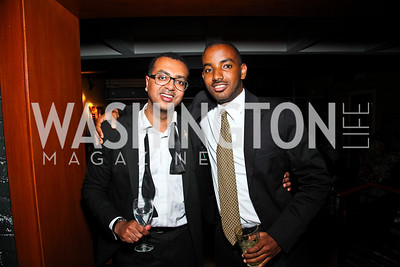 Abiye Abebe, Henock Andargie. Photo by Tony Powell. WL WHC After Party. Grey Goose Mansion. April 30, 2011