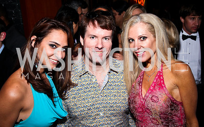 Tiffany Baldwin, Michael Saylor, Kate Frank. Photo by Tony Powell. WL WHC After Party. Grey Goose Mansion. April 30, 2011