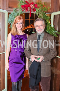 Amy Dorcy, Dominick Cardella. Washington Life and National Museum for Catholic Art's Holiday 2012 Celebration. Georgetown Victorian Christmas House. December 15, 2011. Photo by Alfredo Flores