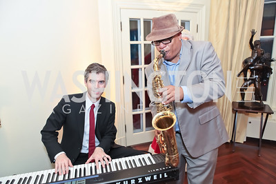 Daniel Monson, Ski Johnson. Washington Life and National Museum for Catholic Art's Holiday 2012 Celebration. Georgetown Victorian Christmas House. December 15, 2011. Photo by Alfredo Flores