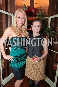 Britt McHenry, Sophie Pyle. Washington Life and National Museum for Catholic Art's Holiday 2012 Celebration. Georgetown Victorian Christmas House. December 15, 2011. Photo by Alfredo Flores
