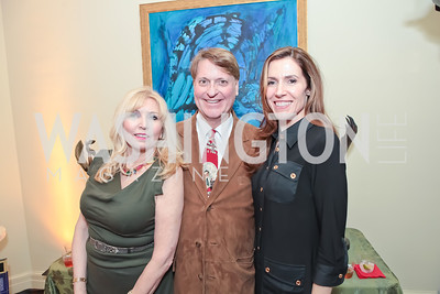 Christina Cox, Bill O'Reilly, Dawn Marie Jones. Washington Life and National Museum for Catholic Art's Holiday 2012 Celebration. Georgetown Victorian Christmas House. December 15, 2011. Photo by Alfredo Flores
