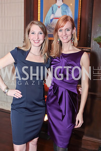 Diana Minshall, Amy Dorcy. Washington Life and National Museum for Catholic Art's Holiday 2012 Celebration. Georgetown Victorian Christmas House. December 15, 2011. Photo by Alfredo Flores