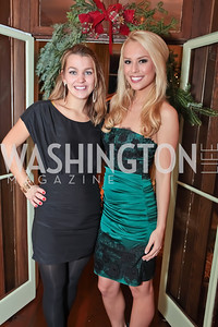 Alex Yeager, Britt McHenry. Washington Life and National Museum for Catholic Art's Holiday 2012 Celebration. Georgetown Victorian Christmas House. December 15, 2011. Photo by Alfredo Flores