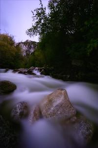A night in Little Cottonwood Creek