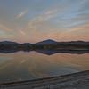 Webb Lake sunset.