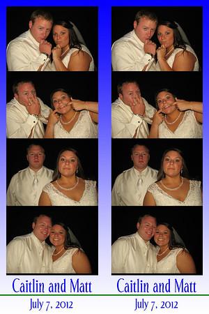 Caitlin and Matt July 7, 2012