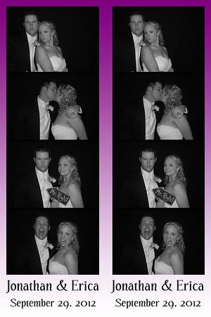 Erica and Jon September 29, 2012